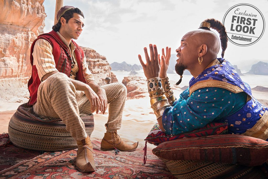 Aladdin © Disney, Entertainment Weekly